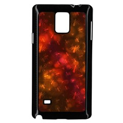 Spiders On Red Samsung Galaxy Note 4 Case (black)