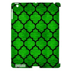 Tile1 Black Marble & Green Brushed Metal (r) Apple Ipad 3/4 Hardshell Case (compatible With Smart Cover)