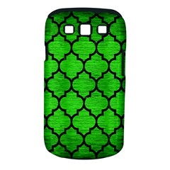 Tile1 Black Marble & Green Brushed Metal (r) Samsung Galaxy S Iii Classic Hardshell Case (pc+silicone)