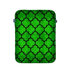 Tile1 Black Marble & Green Brushed Metal (r) Apple Ipad 2/3/4 Protective Soft Cases