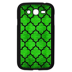 Tile1 Black Marble & Green Brushed Metal (r) Samsung Galaxy Grand Duos I9082 Case (black)