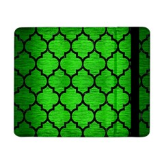 Tile1 Black Marble & Green Brushed Metal (r) Samsung Galaxy Tab Pro 8 4  Flip Case