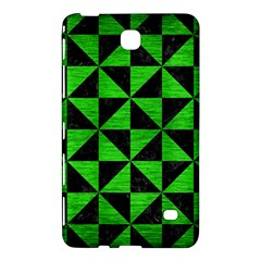 Triangle1 Black Marble & Green Brushed Metal Samsung Galaxy Tab 4 (7 ) Hardshell Case