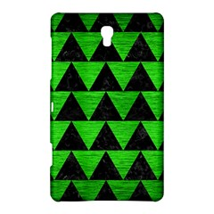 Triangle2 Black Marble & Green Brushed Metal Samsung Galaxy Tab S (8 4 ) Hardshell Case