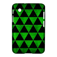Triangle3 Black Marble & Green Brushed Metal Samsung Galaxy Tab 2 (7 ) P3100 Hardshell Case