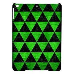 Triangle3 Black Marble & Green Brushed Metal Ipad Air Hardshell Cases