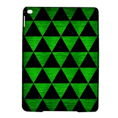 Triangle3 Black Marble & Green Brushed Metal Ipad Air 2 Hardshell Cases