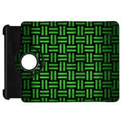 Woven1 Black Marble & Green Brushed Metal Kindle Fire Hd 7