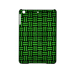 Woven1 Black Marble & Green Brushed Metal Ipad Mini 2 Hardshell Cases