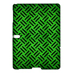 Woven2 Black Marble & Green Brushed Metal (r) Samsung Galaxy Tab S (10 5 ) Hardshell Case