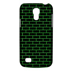 Brick1 Black Marble & Green Colored Pencil Galaxy S4 Mini
