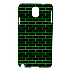 Brick1 Black Marble & Green Colored Pencil Samsung Galaxy Note 3 N9005 Hardshell Case