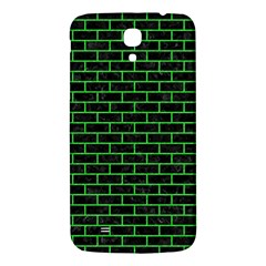 Brick1 Black Marble & Green Colored Pencil Samsung Galaxy Mega I9200 Hardshell Back Case