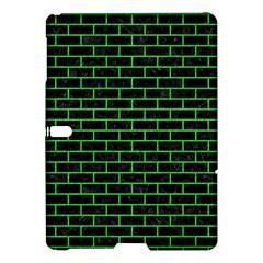 Brick1 Black Marble & Green Colored Pencil Samsung Galaxy Tab S (10 5 ) Hardshell Case