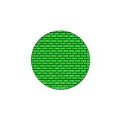 Brick1 Black Marble & Green Colored Pencil (r) Golf Ball Marker (10 Pack)