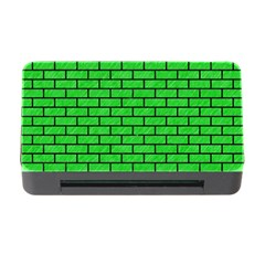 Brick1 Black Marble & Green Colored Pencil (r) Memory Card Reader With Cf