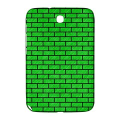 Brick1 Black Marble & Green Colored Pencil (r) Samsung Galaxy Note 8 0 N5100 Hardshell Case