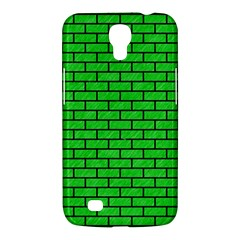 Brick1 Black Marble & Green Colored Pencil (r) Samsung Galaxy Mega 6 3  I9200 Hardshell Case