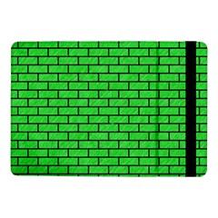 Brick1 Black Marble & Green Colored Pencil (r) Samsung Galaxy Tab Pro 10 1  Flip Case