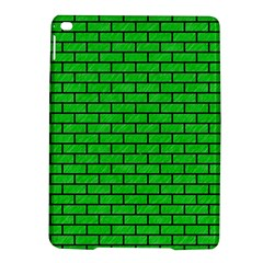 Brick1 Black Marble & Green Colored Pencil (r) Ipad Air 2 Hardshell Cases