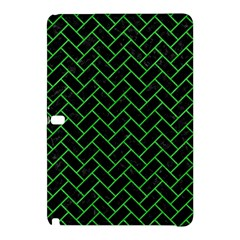 Brick2 Black Marble & Green Colored Pencil Samsung Galaxy Tab Pro 10 1 Hardshell Case