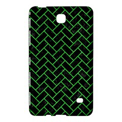 Brick2 Black Marble & Green Colored Pencil Samsung Galaxy Tab 4 (8 ) Hardshell Case