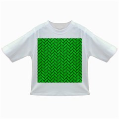 Brick2 Black Marble & Green Colored Pencil (r) Infant/toddler T Shirts
