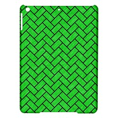 Brick2 Black Marble & Green Colored Pencil (r) Ipad Air Hardshell Cases