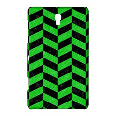 Chevron1 Black Marble & Green Colored Pencil Samsung Galaxy Tab S (8 4 ) Hardshell Case