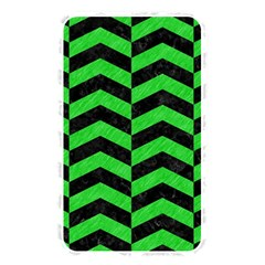 Chevron2 Black Marble & Green Colored Pencil Memory Card Reader