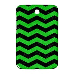 Chevron3 Black Marble & Green Colored Pencil Samsung Galaxy Note 8 0 N5100 Hardshell Case