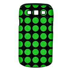 Circles1 Black Marble & Green Colored Pencil Samsung Galaxy S Iii Classic Hardshell Case (pc+silicone)
