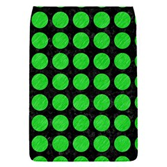 Circles1 Black Marble & Green Colored Pencil Flap Covers (s)