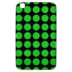 Circles1 Black Marble & Green Colored Pencil Samsung Galaxy Tab 3 (8 ) T3100 Hardshell Case