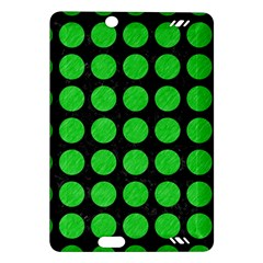 Circles1 Black Marble & Green Colored Pencil Amazon Kindle Fire Hd (2013) Hardshell Case