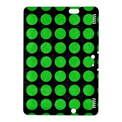 Circles1 Black Marble & Green Colored Pencil Kindle Fire Hdx 8 9  Hardshell Case