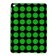 Circles1 Black Marble & Green Colored Pencil Ipad Air 2 Hardshell Cases