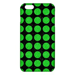 Circles1 Black Marble & Green Colored Pencil Iphone 6 Plus/6s Plus Tpu Case