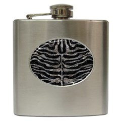 Skin2 Black Marble & Gray Stone Hip Flask (6 Oz)