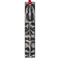 Skin2 Black Marble & Gray Stone Large Book Marks