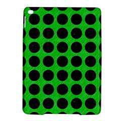 Circles1 Black Marble & Green Colored Pencil (r) Ipad Air 2 Hardshell Cases