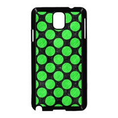 Circles2 Black Marble & Green Colored Pencil Samsung Galaxy Note 3 Neo Hardshell Case (black)