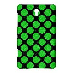 Circles2 Black Marble & Green Colored Pencil Samsung Galaxy Tab S (8 4 ) Hardshell Case