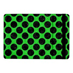 Circles2 Black Marble & Green Colored Pencil (r) Samsung Galaxy Tab Pro 10 1  Flip Case