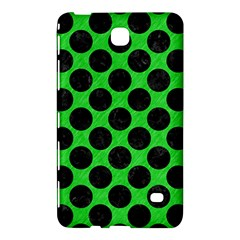Circles2 Black Marble & Green Colored Pencil (r) Samsung Galaxy Tab 4 (7 ) Hardshell Case