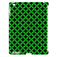Circles3 Black Marble & Green Colored Pencil Apple Ipad 3/4 Hardshell Case (compatible With Smart Cover)