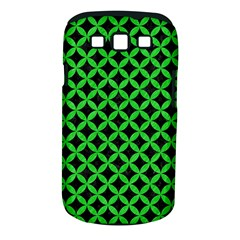 Circles3 Black Marble & Green Colored Pencil Samsung Galaxy S Iii Classic Hardshell Case (pc+silicone)