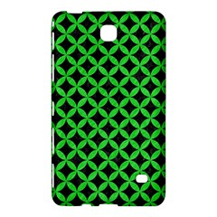 Circles3 Black Marble & Green Colored Pencil Samsung Galaxy Tab 4 (7 ) Hardshell Case