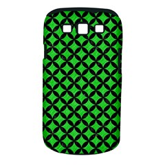 Circles3 Black Marble & Green Colored Pencil (r) Samsung Galaxy S Iii Classic Hardshell Case (pc+silicone)