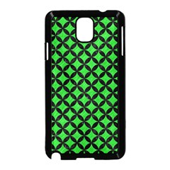 Circles3 Black Marble & Green Colored Pencil (r) Samsung Galaxy Note 3 Neo Hardshell Case (black)